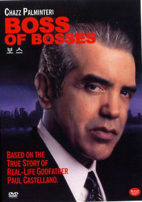 BOSS OF BOSSES (1999) - Chazz Palminteri DVD *NEW [DISC ONLY]