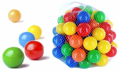 2500 Balls Pit Mixed 55mm Mix Multicolour Colorful Colours Baby Play Bath