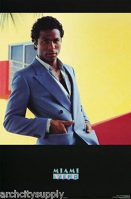 Lot Of 2 Posters :tv Actor  Philip Michael Thomas  - Miami Vice   #62   Rap108 C