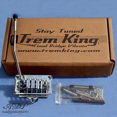 Tremolo Gaucher Trem King TKS-3 CLH Vibrato Fixed Bridge Lefty CLOSEOUT