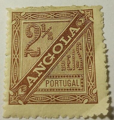 Angola   Scott#p-1   Mint/h/rem    Stamp .....worldwide Stamps