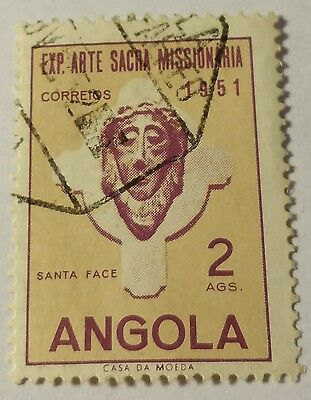 Angola   Scott#361  Used Scu900Uv..worldwide Stamps