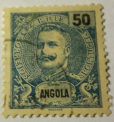 Angola   Scott#46  Used ...worldwide Stamps
