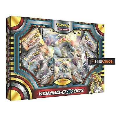 Pokemon TCG Kommo-o GX Collection Box: Includes Booster Packs Promo + Jumbo Card