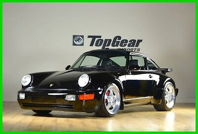 1994 Porsche 911 3.6 Turbo 1994 Porsche 911 3.6 Turbo  Black on Black  Original Window Sticker