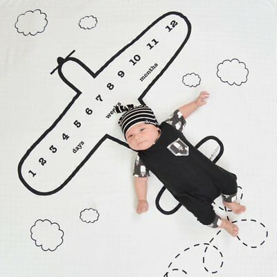 Newborn Baby Infant Muslin Cotton Swaddle Blanket Photography Props Backdrops Ne