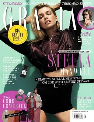 GRAZIA MAGAZINE : 18th SEPTEMBER 2017 (BRAND NEW!! SEALED!)