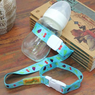 Baby Safety Seat Stroller Adjustable Non-Slip Grip Sippy Cup Bottle Toy Strap C
