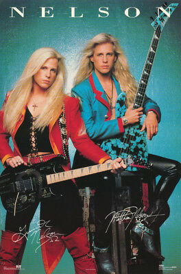 Lot Of 2 Posters : Music : Nelson - Identical Twins - Free Ship  #8110     Lw1 X