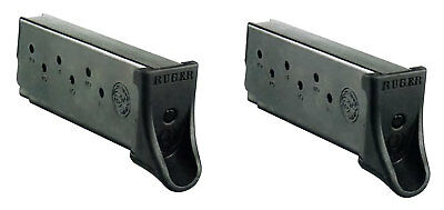 Ruger 90642 Ruger LC9/LC9S/EC9S 9mm 7 rd Black Finish OEM pack of 2 mags