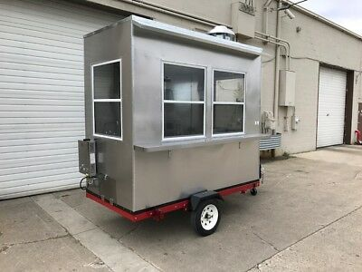 Nsf Hot Dog Stand-In Mobile Food Cart Catering Trailer Kiosk Stand