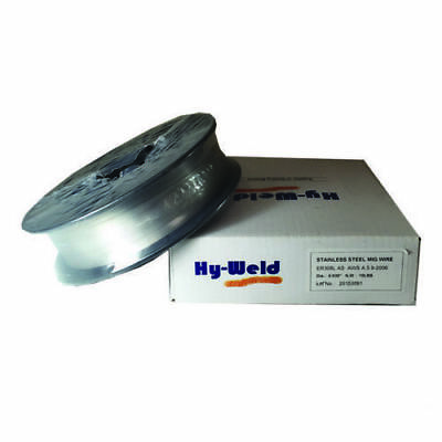 """Stainless Steel Mig ER308L Mig Welding Wire .035"""" 10 lb Spool"""
