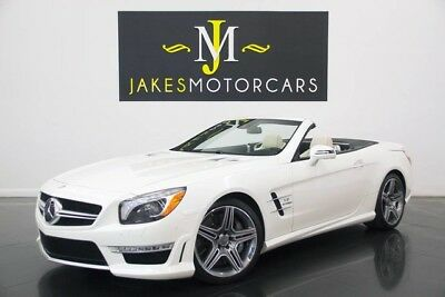 2013 Mercedes-Benz SL-Class SL63 AMG ($155,790 MSRP) 2013 MERCEDES SL63 AMG, $155K MSRP, ONLY 15K MILES, DIAMOND WHITE ON PORCELAIN!