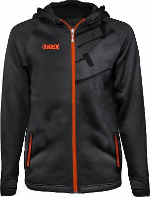 509 Tech Zip Hoodie - Orange