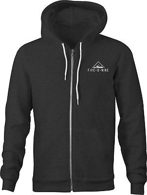 509 Five-O-Nine Zip Hoodie - Black