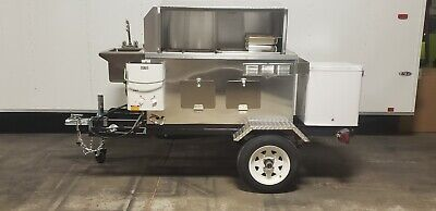 Nsf Hot Dog California Mobile Food Cart Catering Trailer Kiosk Stand