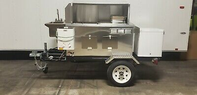 Nsf Hot Dog Mini Mobile Food Cart Catering Trailer Kiosk Stand