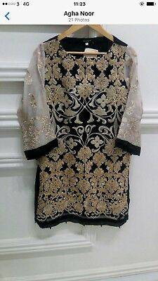 Original Stunning Agha Noor Kurta Size Small New Without Tags
