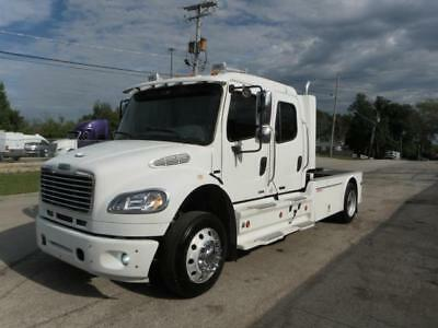 2006 Freightliner M2 SPORT CHASSIS CUSTOM NAVIGATION 5 TVS AIR BRAKES 22.5 CREW