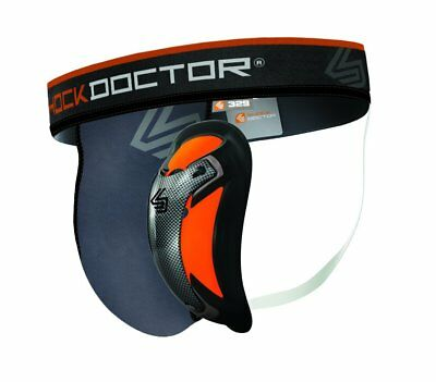 Shock Doctor Ultra Supporter with Ultra Carbon Flex Cup Boys New