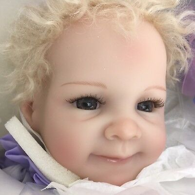 Ashton Drake So Truly Real Baby Girl Doll by Emily Jameson 'God's Smallest Hands