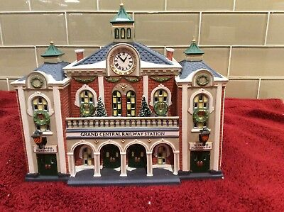 Dept. 56 Christmas In The City Grand Central Railway Station Retired Great Piece