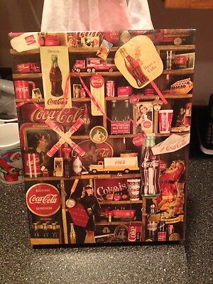 Coca-Cola Coke is it! 1986 Nostalgia 500 Piece Jigsaw Puzzle Sealed Collectible