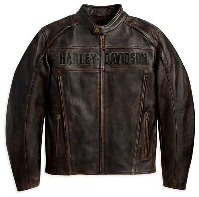 Harley-Davidson Roadway Leather Jacket XL Almost NEW!