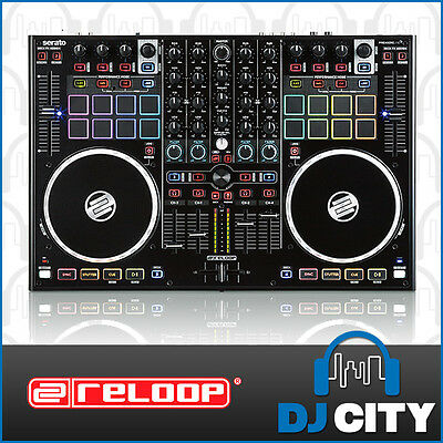 Terminal Mix8 Reloop 4-Channel Serato DJ Controller w/ 16 Touch Pads