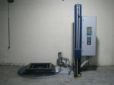 Pallet Stretch Wrapper Machine - Robopac Rotoplat 506
