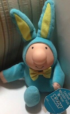 """ZiIGGY Easter Bunny American Greetings 6"""" Plush Doll Toy Figure With Tag"""