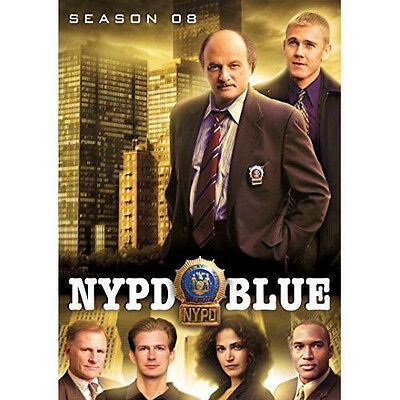 NYPD BLUE Season 8 (DVD 5-Disc Set) Eighth ~ NEW & Sealed