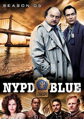NYPD BLUE Season 5 (DVD 5-Disc Set) Fifth ~ NEW & Sealed