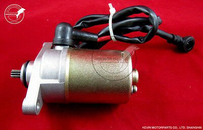 Electric Start Starter Motor GY6 49cc 50cc 80cc Gas Engine Moped Scooter QMB139