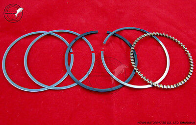 RIK 57.4mm Piston Rings set Gy6 150 157QMJ Chinese Scooter moped ATV Quad Engine