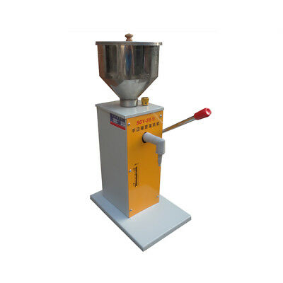 1- 50ml Manual Viscous liquid Fill Machine Paste Liquid  Filling Machine