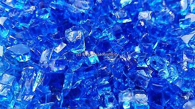 Cobalt Blue Heat Resistant Fireglass For Fire Place And Fire Pits 10 -100Lbs