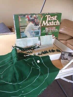 Vintage Test Match The Authentic Cricket Game . Crown Andrews Manufacturer.1970?