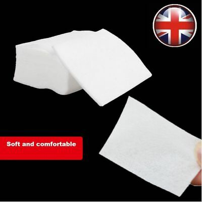 1, 100 or 900x LINT FREE SOFT NAIL WIPES ART GEL ACRYLIC POLISH REMOVER MANICURE