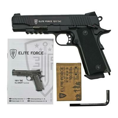 Softair - Pistole - ELITE FORCE 1911 TAC CO2 GBB - ab 18 Jahre über 0,5 J