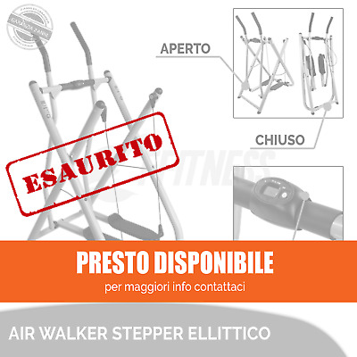 Offerta Air Walker Stepper Multifunzione Home Fitness Con Display Lcd