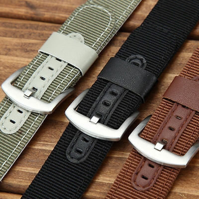 Watch Strap Band For Samsung Gear S3 Classic / Frontier watch Leather Nylon