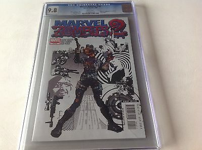 Marvel Zombies 2 #4 Cgc 9.8 White Pages Awesome Nick Fury Agent Of Shield Swipe