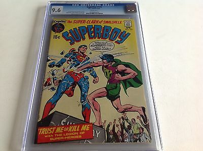 Superboy 173 Cgc 9.6 White Pages Cool Neal Adams Cover Dc 1971 Free Shipping