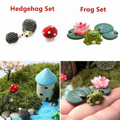Artificial Mini Animal Miniatures Garden Resin Crafts Decorations Landscaping YT