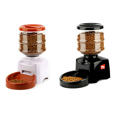 New 5.5L Automatic Pet Feeder with Voice Message Recording and LCD Screen YT