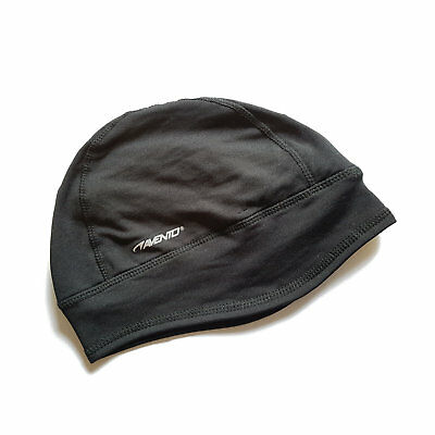 Stretchy lycra beenie hat for running, cycling etc - tight fitting - lightweight