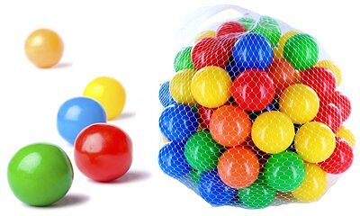 4000 BALLS Pit Mixed 55mm Mix Multicolour Colorful Colours Baby Play Bath
