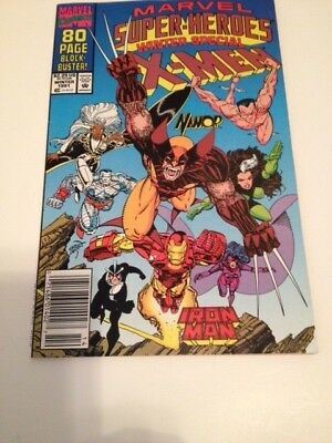 Marvel Super Heroes Winter Special 1991 - 1st Appearance Squirrel Girl