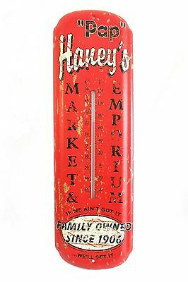 Vintage-Style Rustic Wall Thermometer - Pap Haney's Market Emporium